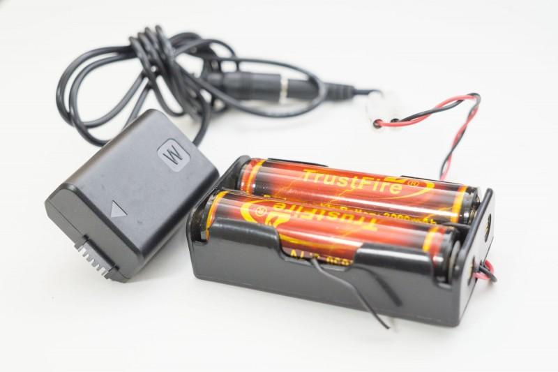 DCカプラーと充電池